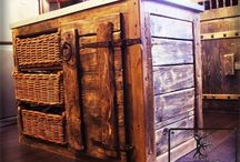 Furniture / Rustic and old furniture