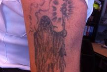 Coverup reaper tattoo