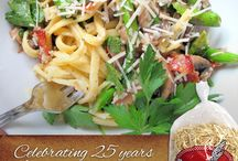 Celebrating 25 Years / We're celebrating making quality homemade style pasta for 25 years and looking forward to 25 more!