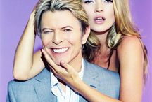 Kate + David Bowie