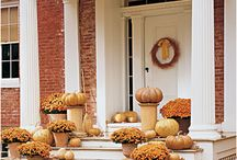 Thanksgiving decorations / by Kelly Mangum Duke