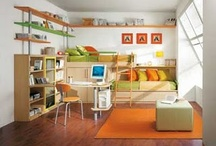 Boys' Room / Random ideas for decorating and organizing a room for two very different boys.... / by Laurie Crouch