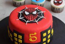 tortas super heroes