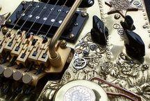 Steam Punk Guitar Ideas / Check out my board. It's about guitars, and creative ideas.