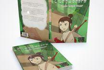 Buku AR Ciung Wanara / Buku Ilustrasi Ciung Wanara berbasis AR