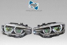 2X NEU VOLL LED SCHEINWERFER HEADLIGHTS BMW 3 F30 F31 M3 7453483-01
