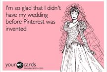 Cute Wedding Ideas! / Oh dear, wedding planning and creating a Pinterest account is both a bad&amazing idea! / by Nicole Custance