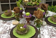 Table decorations / by Camille Sims