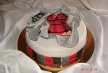 Cake with red corset