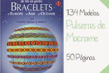 Pulseras macrame