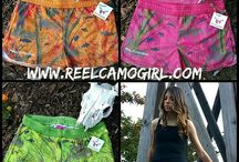 ReelCamo Products / Gear made of ReelCamo camouflage