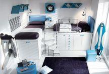 Dormitorios para adolescentes