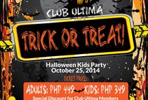 Spooky Halloween / Halloween events for all ages hosted by Club Ultima, family Halloween activity ideas, DIY costumes for all ages. :)