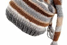 Childrens knit hats