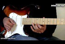blues zenék / gitár leckék blues zenék