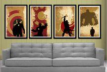 superheroes | art