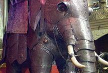Слоны в доспехах