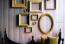 Empty frame decor / Simple home decor inspiration