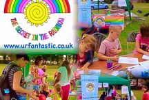 Out in the Community / Keep an eye on our website for dates, times and places we'll be taking our fun, confident building workshop stall to next.   Or if you are interested in booking us, please feel free to contact us, or visit our website for more details.  hello@urfantastic.co.uk www.urfantastic.co.uk