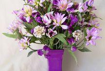 flower, arrangement / Visit Fleur de Lis Quilts at www.fleurdelisquilts.blogspot.com #fleurdelisquilts, #marymarcottequilts