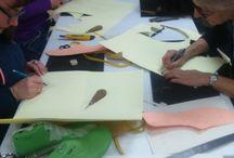 Cursos de cuero / En Artcuero.com damos cursos para que aprendas a hacer tus propias piezas en cuero natural: sandalias, máscaras, mochilas, adornos... lo que más te guste!