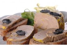 Foie gras with truffles / Truffles