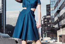 Smalt.Paris - Robes pigment bleu