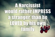 A reminder to myself regarding narcissists
