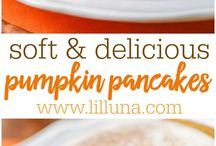 Best Fall Recipes / Delicious recipes using fall harvest and fall colors - pumpkins, squash, apples, potatoes, onions, cabbage, carrots, leek, celery, cauliflower, and pears!