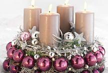 Christmas dekoration venčeky