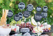 Hochzeit Essen und Trinken