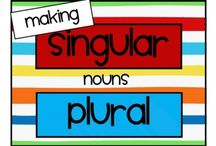 Vocabulary for ESL/ELL Kids: Nouns (Singular/Plural) / by Laurie Moulton (Elementary ESL)