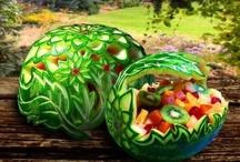 Watermelon fun! / by Margie Morelos-Galvan