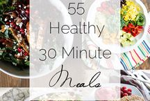 Minute Meals / Easy, tasty, healthy meals in minutes.