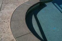 Swimming pool path way