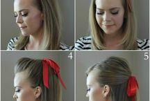 Hair up / Hair arrange