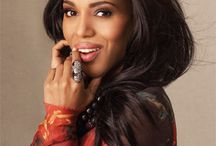 Kerry Washington / 'I am not the girl the guy gets at the end of the movie. I am not a fantasy. If you want me, earn me! - Kerry Washington as Olivia Pope (Scandal)