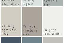 Materialer og farger