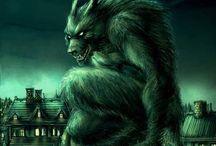 Creepy creatures / by Kurt Praschak