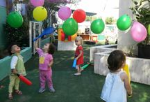 Do It Yourself At Preschool / We call it 'the child's work' - is never about us, but always about the child at Emerald City Nursery, Al Wasl, by Box Park, Dubai.  Beautiful Minds Nurseries