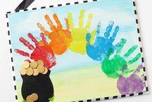 Kreativ med barna