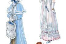 Regency paper doll