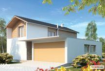 Casa cu etaj, pe structura metalica usoara