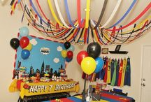Neho ' super hero party / by Yvette Farias