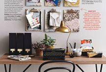 HOME | Organize me / Dream Workspaces Mostly: I could sure use an organizational wizard at my side