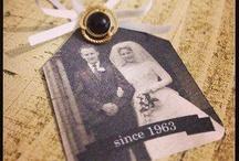 Golden wedding ideas