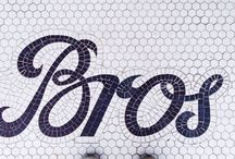 Typographies Mosaiques