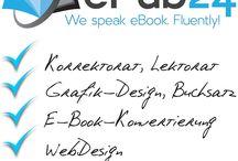 """Lektorat / Ein """"must have"""" für jedes Werk. Leistungsbeschreibung: - inklusive Korrektorat (Rechtschreibung, Zeichensetzung, Grammatik) - Lektorenbegleitung bis zur Druckreife - Prüfung der sprachlichen und inhaltlichen Richtigkeit, Spannungsbögen, Figurenentwicklung, Logik, Ausdruck, Lesbarkeit und Dramaturgie - zusammenfassende Beurteilung Ihres Werkes mit Tipps zur Überarbeitung Mehr auf: www.epub24.com"""