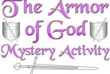 Armor of God / A place for TFCA Teachers and Staff to share ideas for the 2016-17 school theme!  Pin lesson ideas, worksheets, dramatic play, handouts, posters, and more!