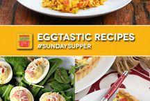 Eggs / Egg recipes featuring the incredible, edible egg!